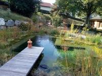 Bassin baignade naturelle Haute-Savoie