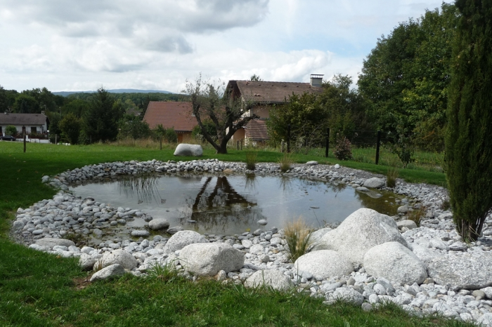 paysagiste saint julien en genevois bassin